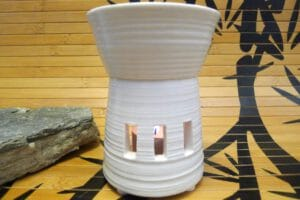 Duftlampe Porzellan vorderseiteP1040954-56
