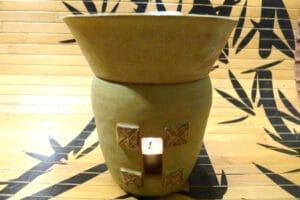 Duftlampe bambus vorderseiteP1040964