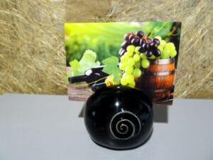 Kartenhalter schwarzglanz P1060864-65